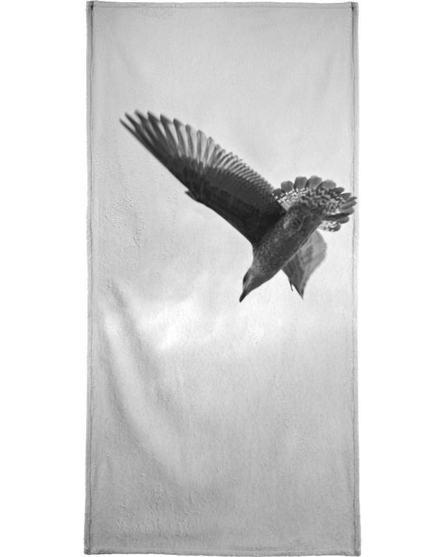 A seagull serviette de bain