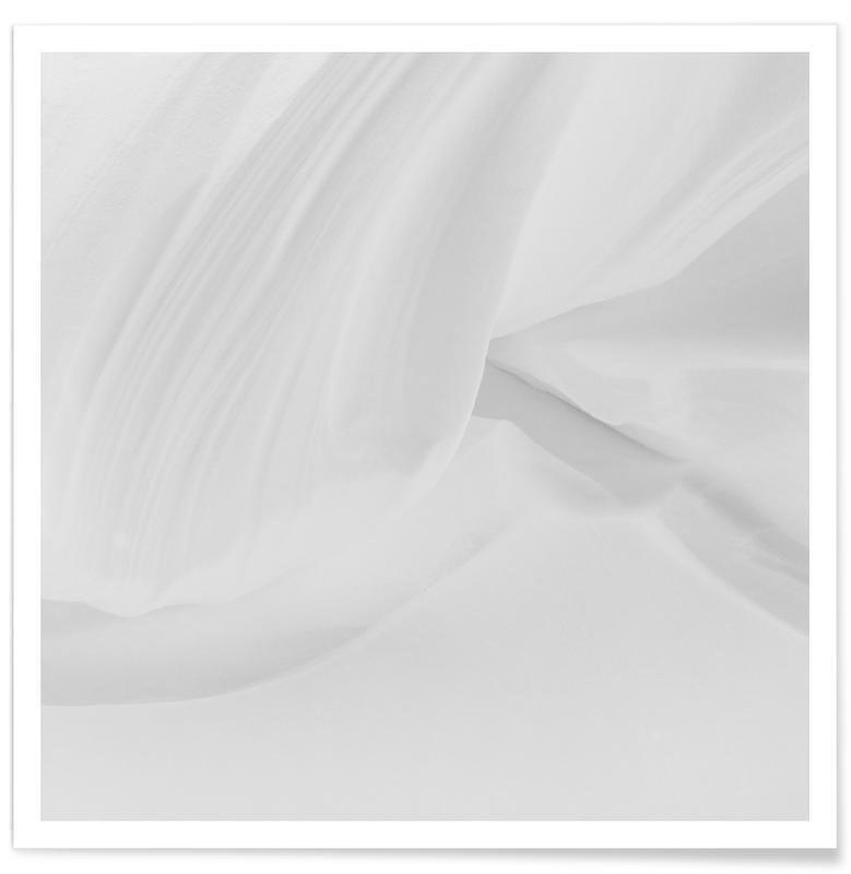 Abstracte landschappen, Snowscape 1 poster