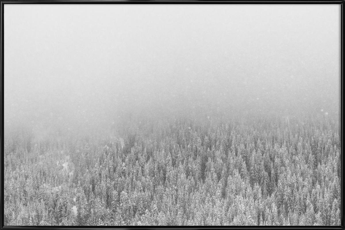 Snowy Day Framed Poster