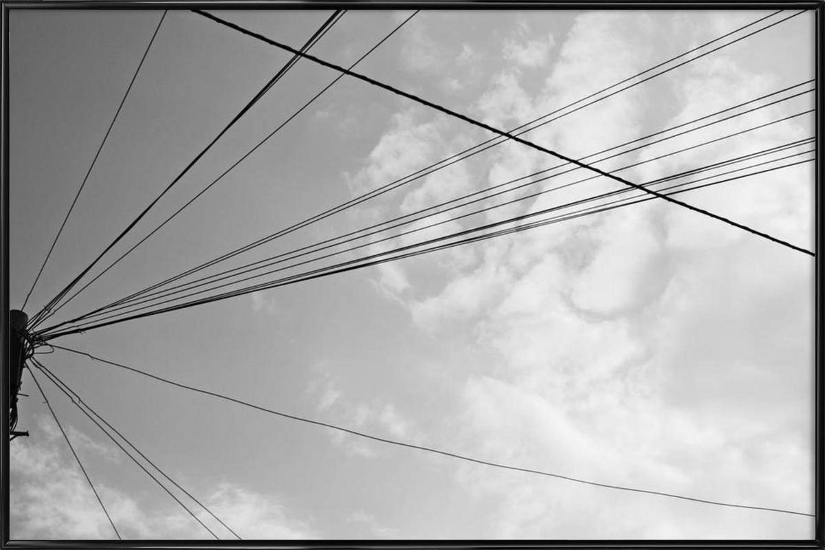 Power pole 2 Framed Poster