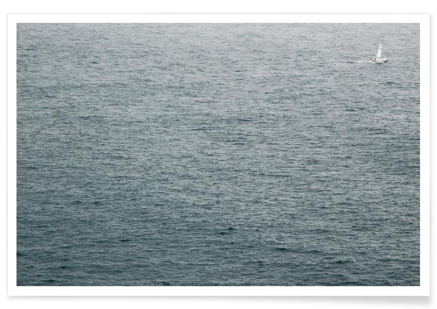 Noir & blanc, Océans, mers & lacs, Lost sailor affiche