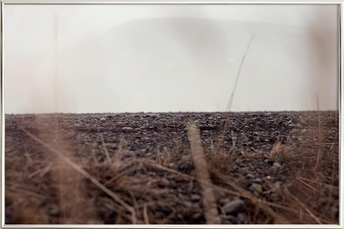 Hiding ground -Poster im Alurahmen