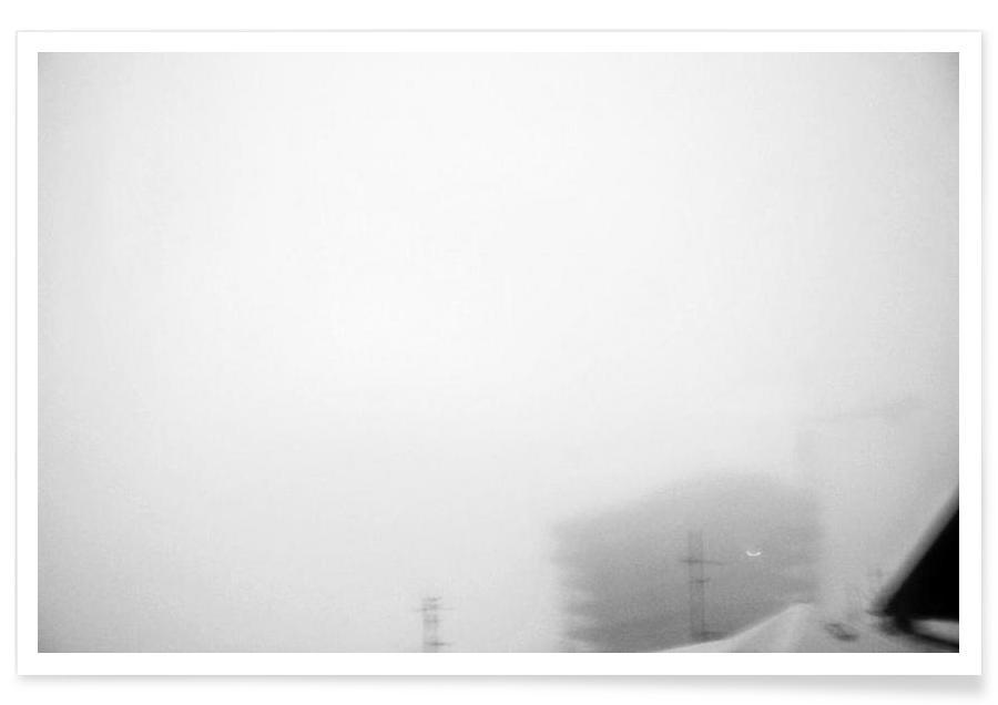 Reykjavík in the mist 2 Poster