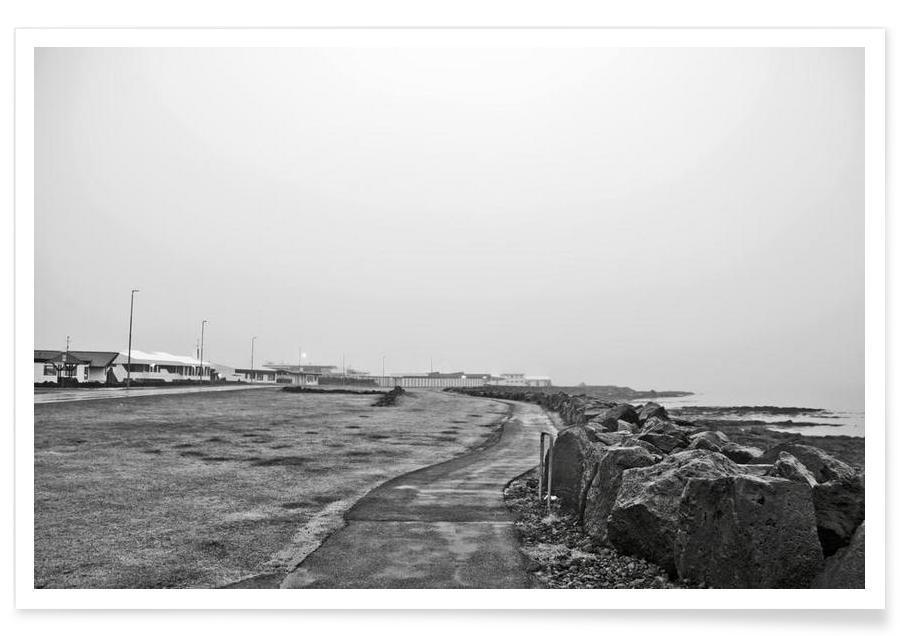 Reykjavík shore -Poster