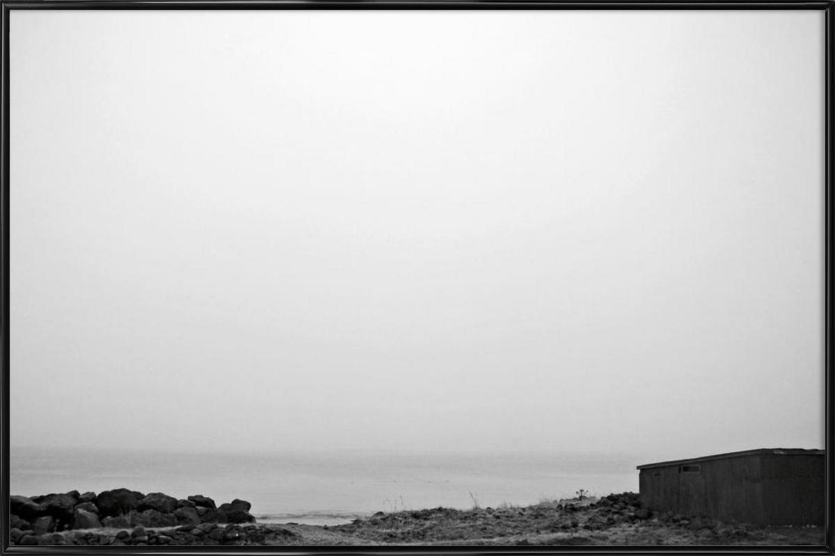 Reykjavík shore 2 Framed Poster