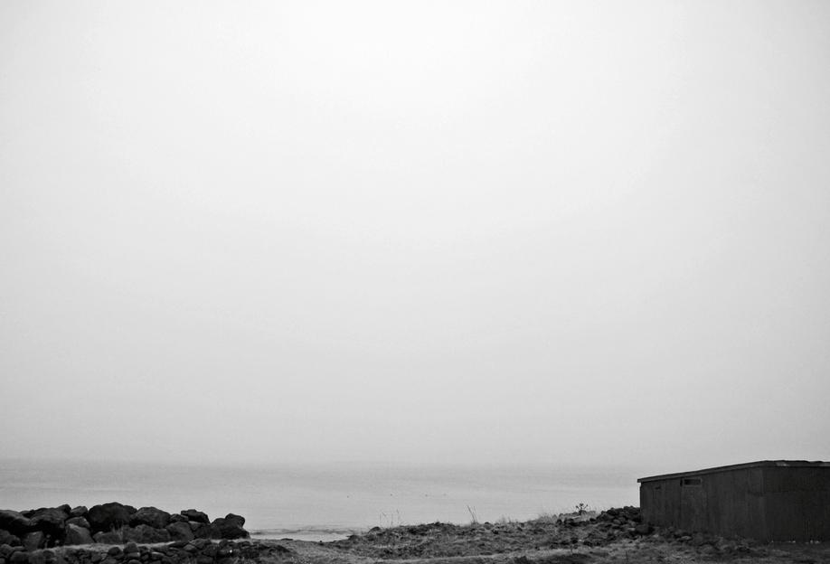 Reykjavík shore 2 Aluminium Print
