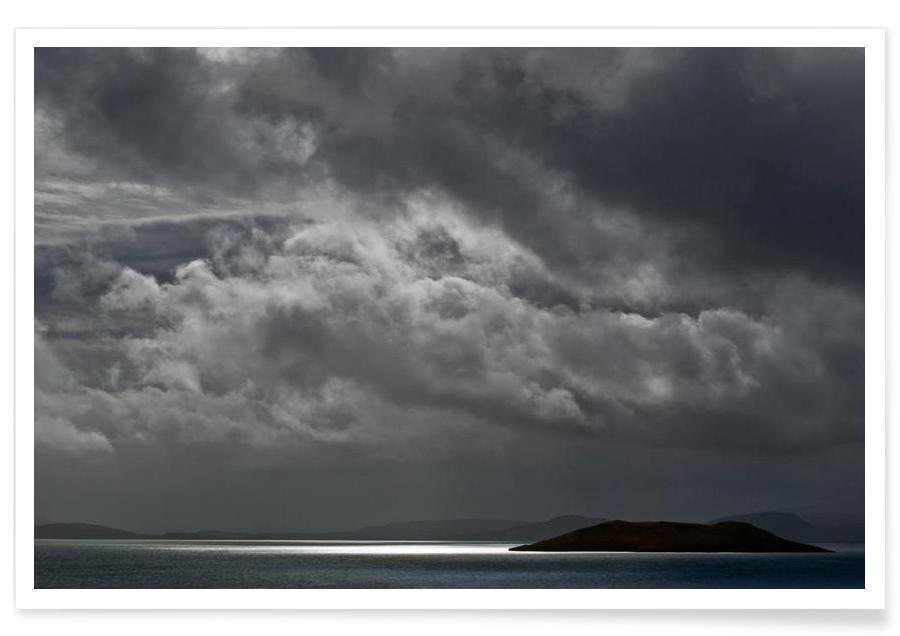 Lucht en wolken, Cloudy Island poster