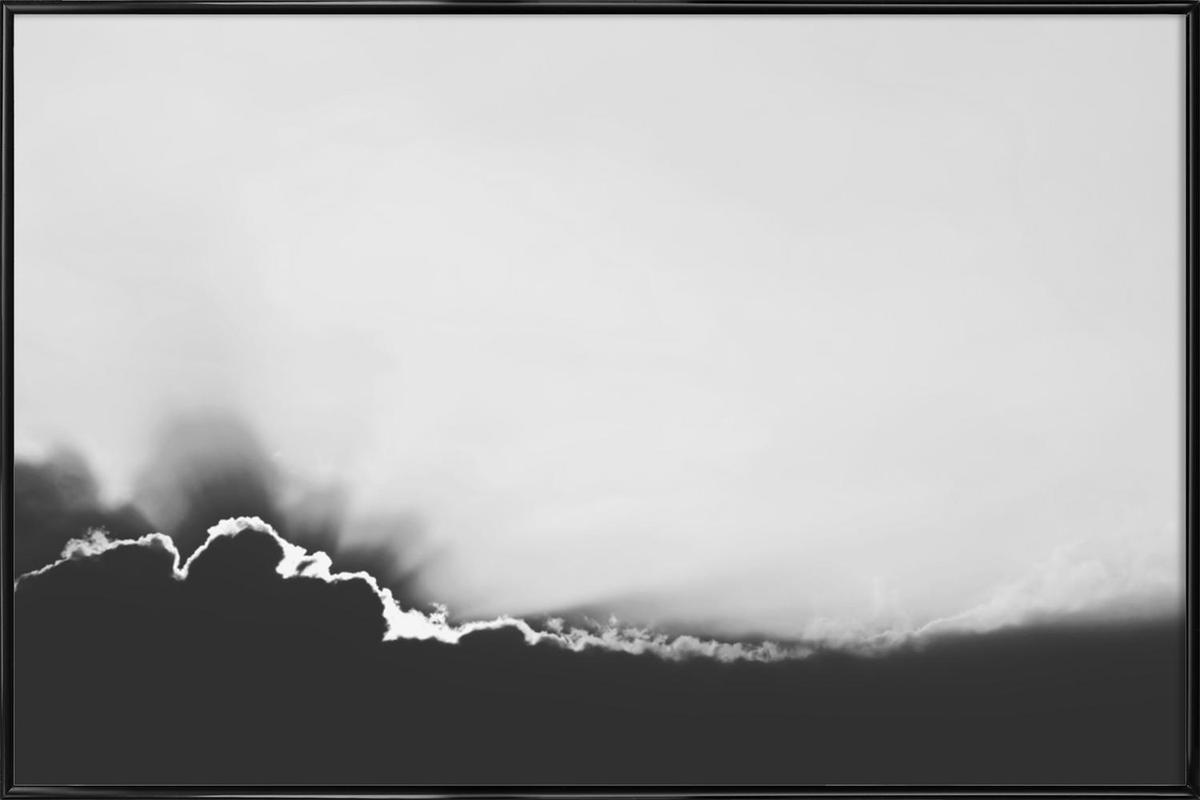 Hello Sunshine -Bild mit Kunststoffrahmen