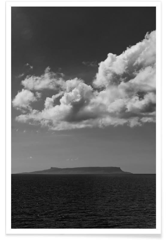 Zwart en wit, Lucht en wolken, Farewell poster