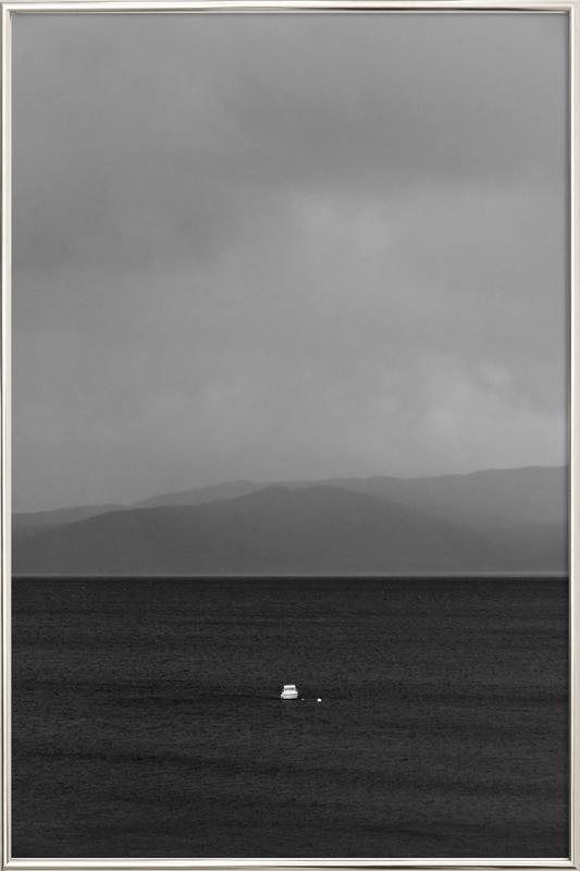 Solitude -Poster im Alurahmen