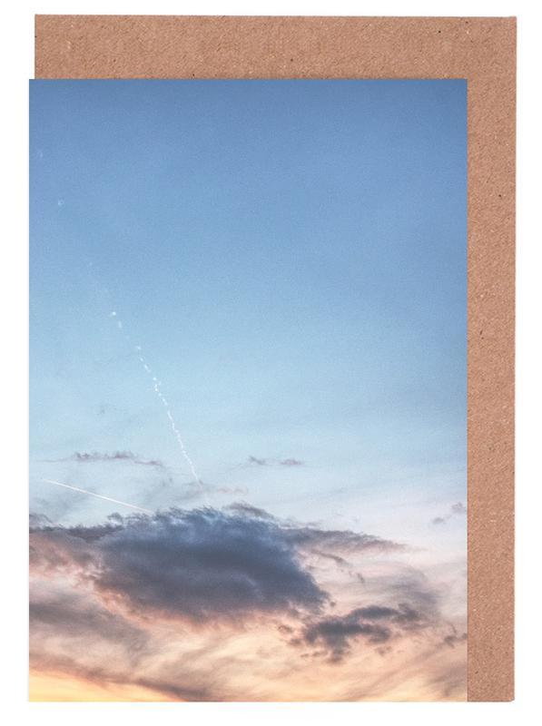 Alpine evening -Grußkarten-Set