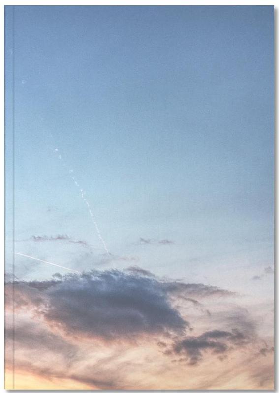 Alpine evening Notebook