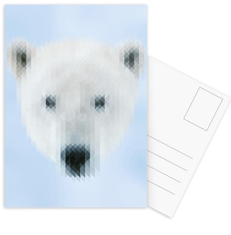 Polarbear Postcard Set