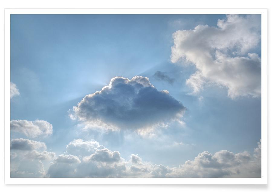 Skies & Clouds, Alpine morning Poster
