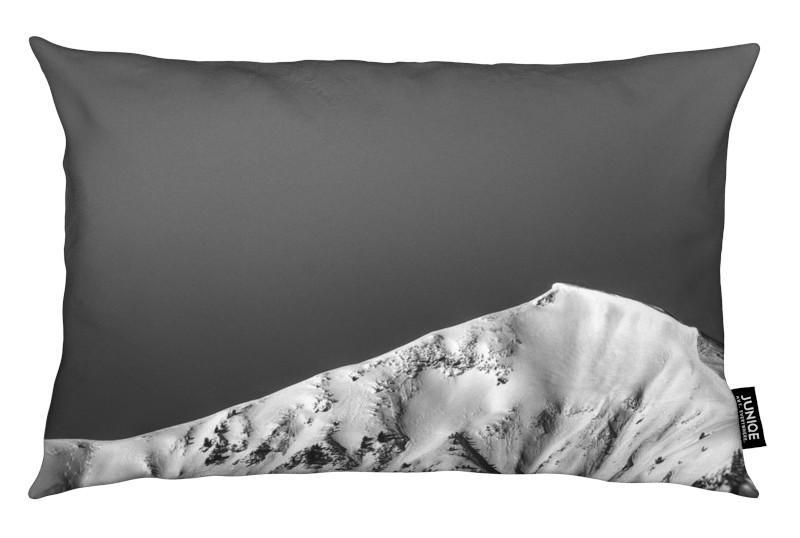Noir & blanc, Montagnes, Temptation coussin