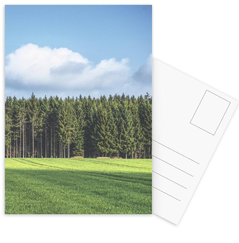 Bossen, Bomen, Odenwald ansichtkaartenset