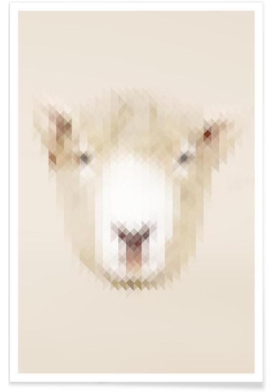 Moutons, Sheep affiche