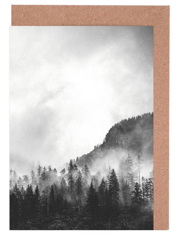 Moody Clouds 4 Greeting Card Set