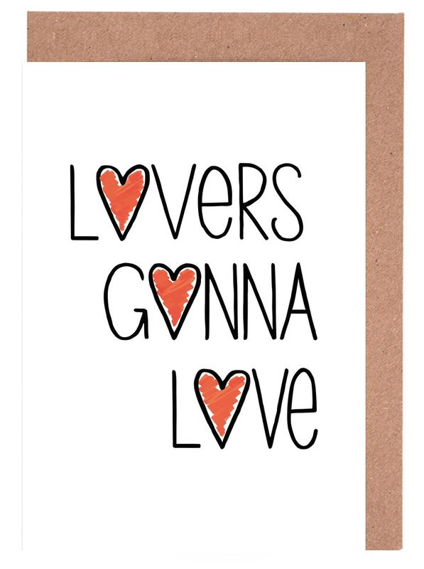 Lovers Gonna Love Greeting Card Set