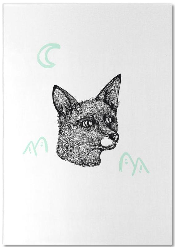 Celestial Fox Notepad