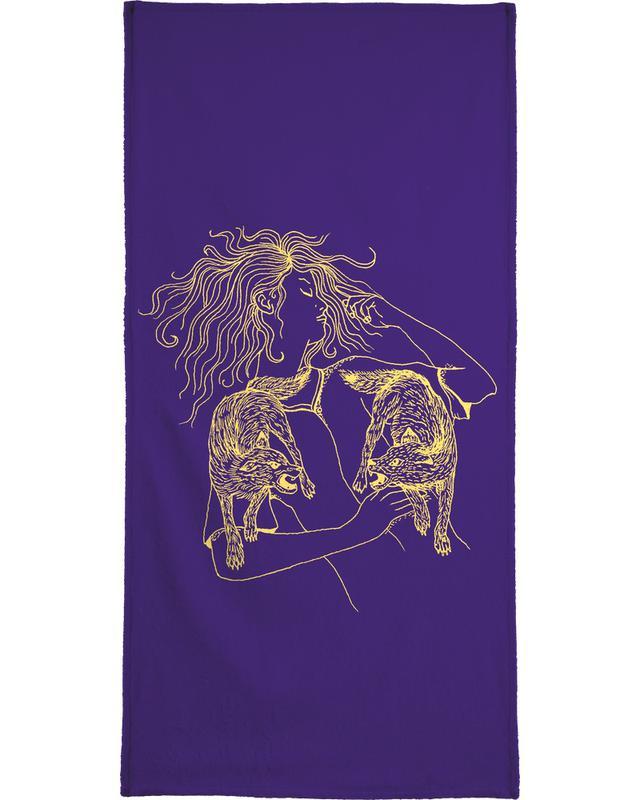 Wolves Bath Towel