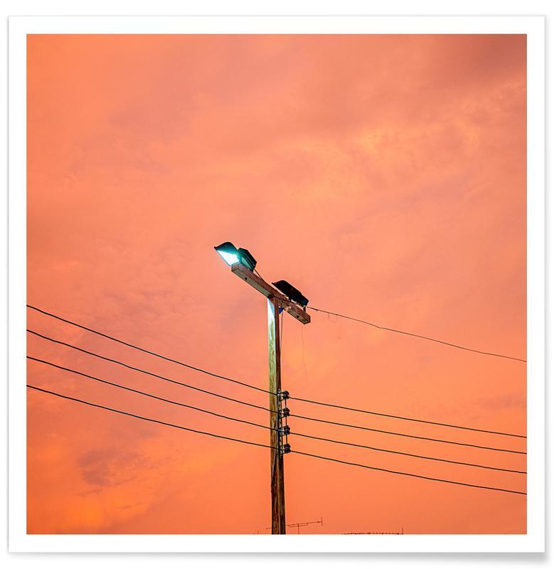 Couchers de soleil, Krabi Skies affiche
