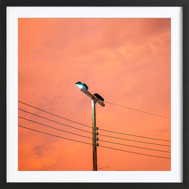 Krabi Skies Framed Print