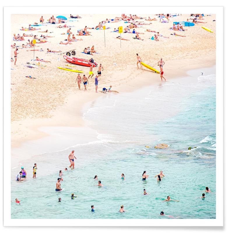 Strände, Beach -Poster