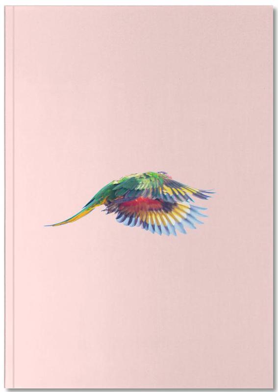 Parrots, Pink Parrot 2 Notebook