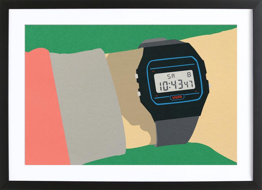 90s Watch ingelijste print