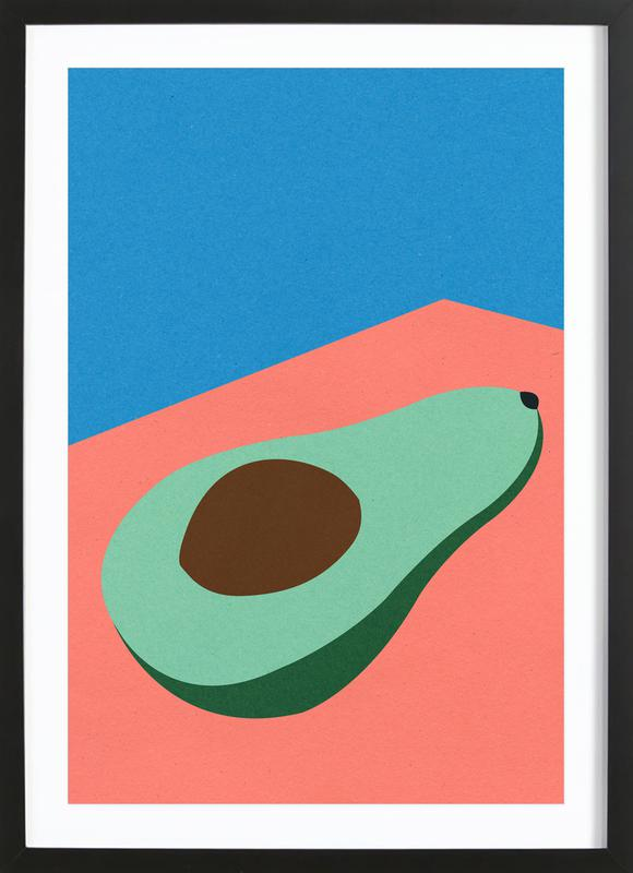 Avocado on the Table ingelijste print
