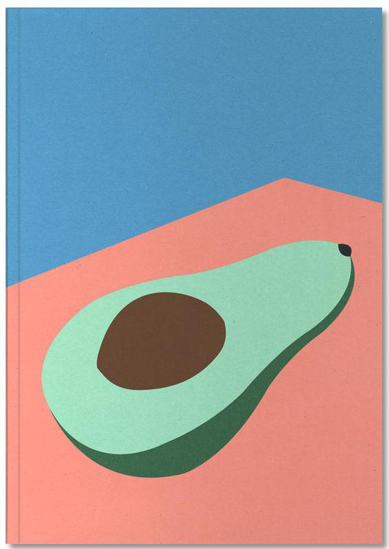 Avocado on the Table Notebook