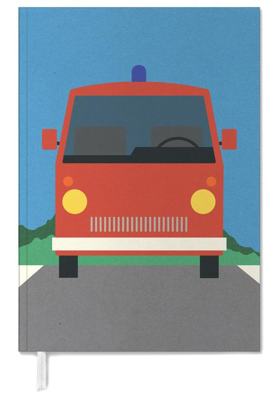 Fire Engine Personal Planner