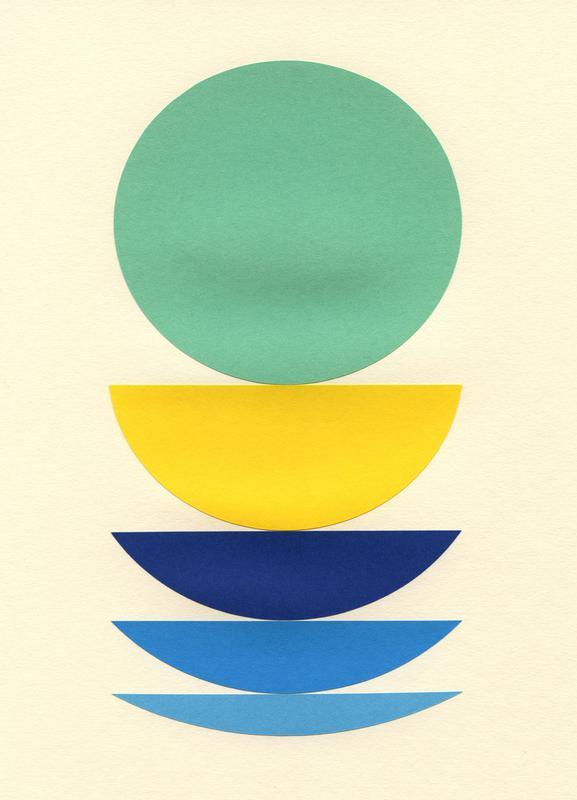Five Circles canvas doek
