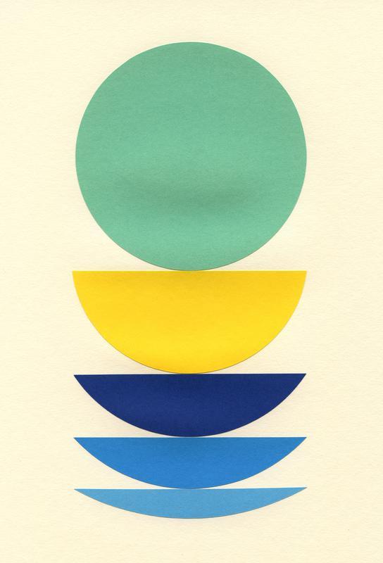 Five Circles Aluminium Print