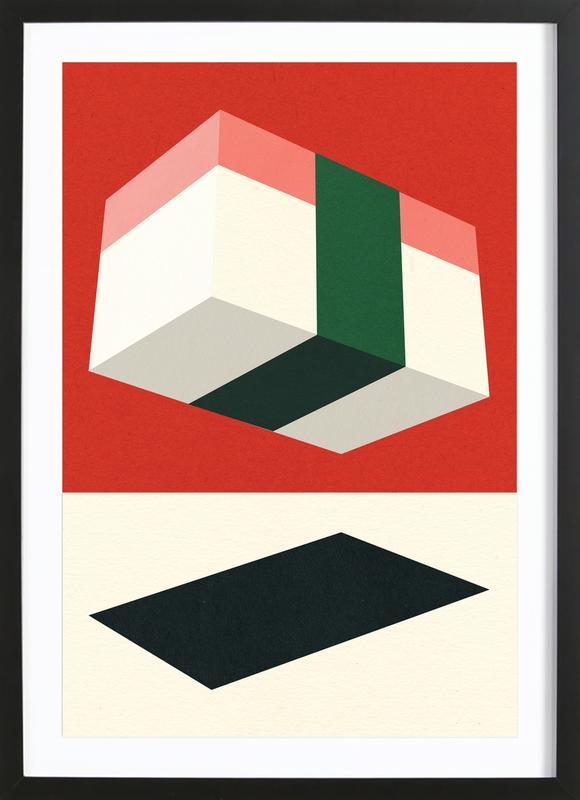 Flying Nigiri Framed Print