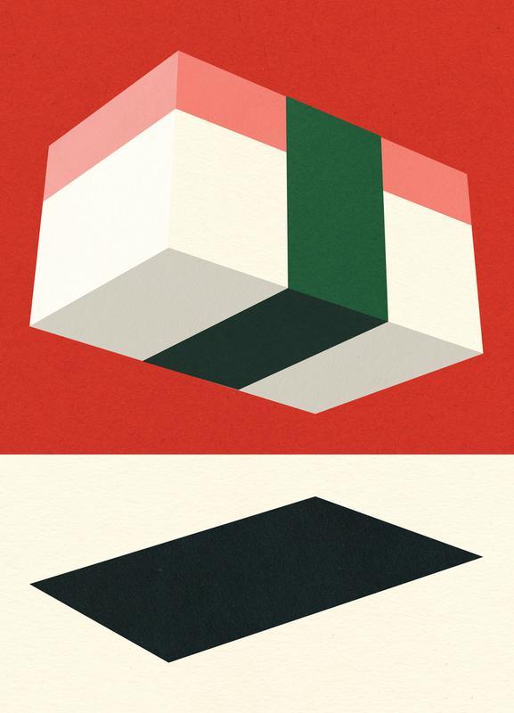 Flying Nigiri Canvas Print