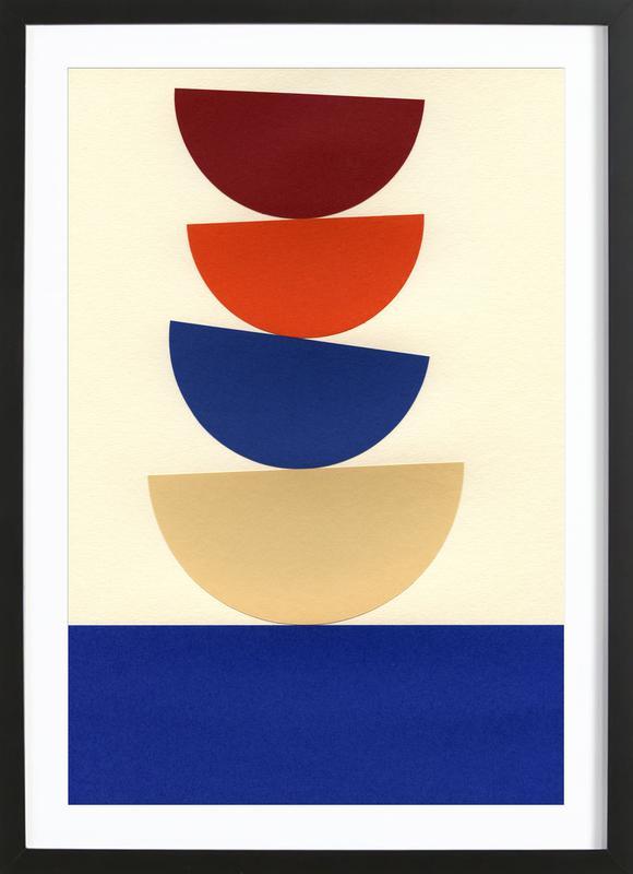 Four Bowls Framed Print
