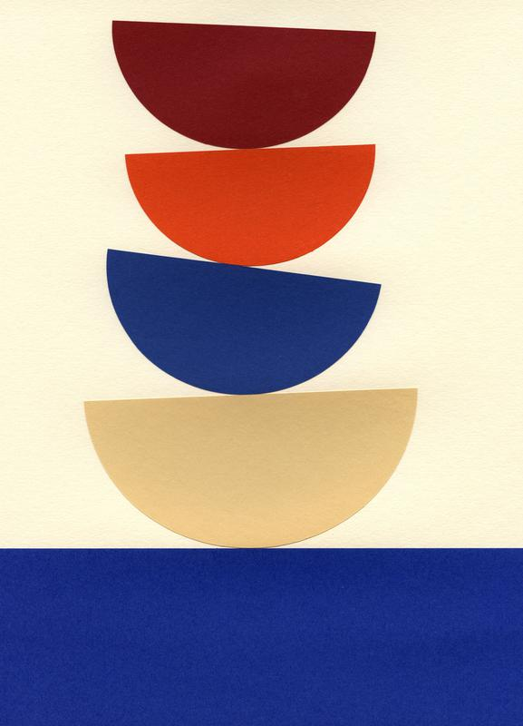 Four Bowls -Leinwandbild