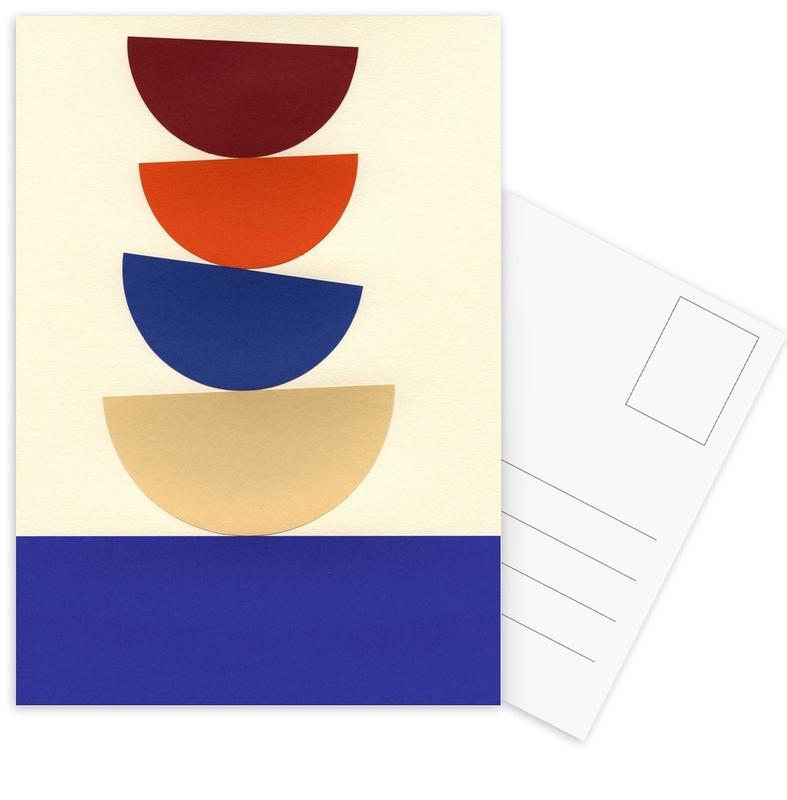 Four Bowls Postcard Set