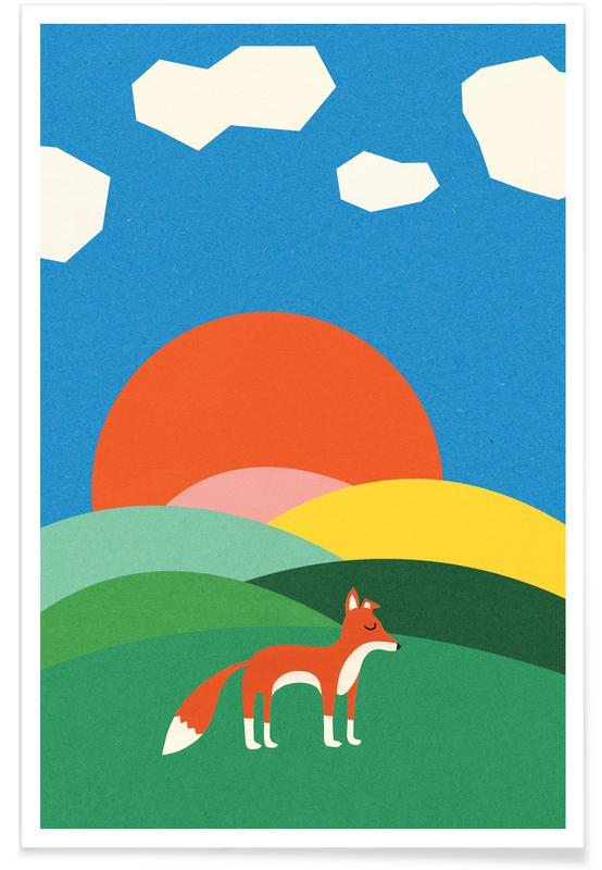 Fox and Field -Poster