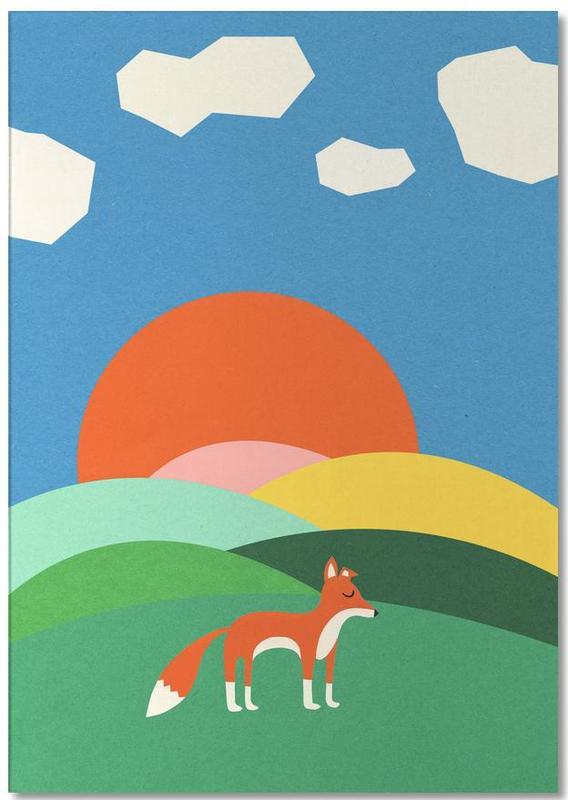 Fox and Field -Notizblock