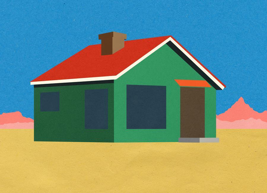 Joshua Tree House Canvas Print