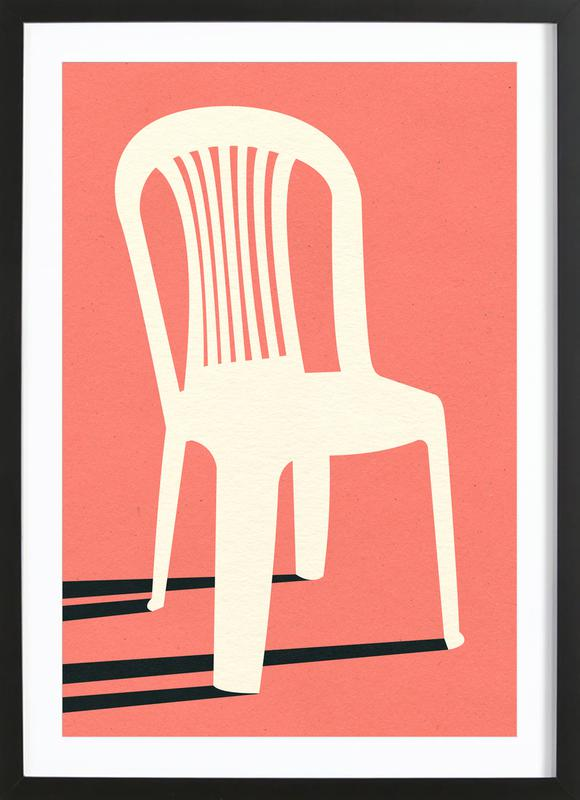Monobloc Plastic Chair No I Framed Print