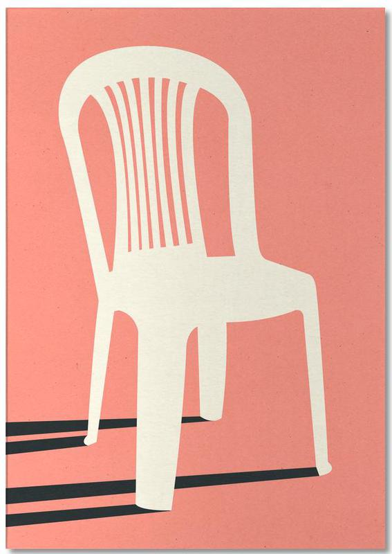 Monobloc Plastic Chair No I bloc-notes