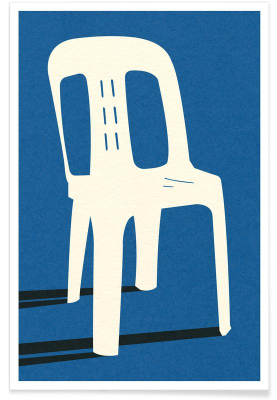 Monobloc Plastic Chair No II Poster