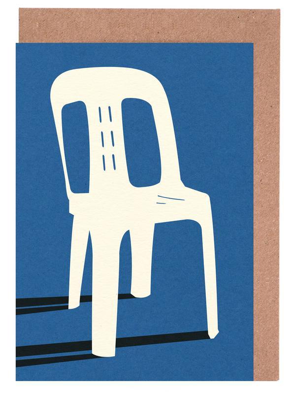 Monobloc Plastic Chair No II -Grußkarten-Set