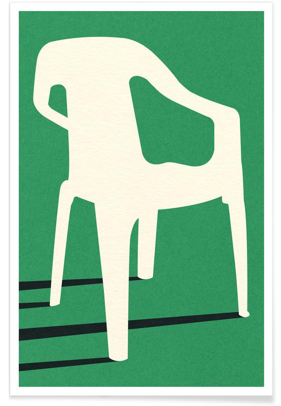 Monobloc Plastic Chair No III Poster