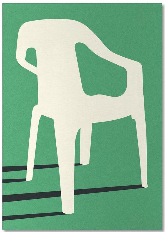 Monobloc Plastic Chair No III Notepad