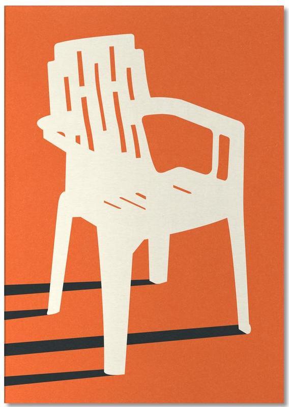 Monobloc Plastic Chair No VII Notepad